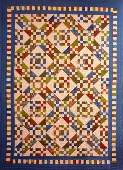 Big Paintbox Crossing Quilt
