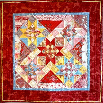 Big Charm Pack Mosaic Ohio Stars Quilt