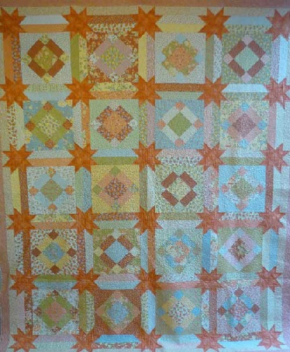 Big Dandelion Girl Quilt