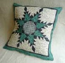 Lovely Feathered Star Cushion
